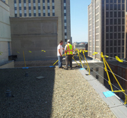 Berkley Roof Fall Protection